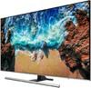 "LED телевизор SAMSUNG UE49NU8000UXRU  ""R"", 49"", Ultra HD 4K (2160p),  серебристый вид 2"