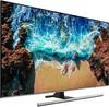 "LED телевизор SAMSUNG UE49NU8000UXRU  ""R"", 49"", Ultra HD 4K (2160p),  серебристый вид 3"