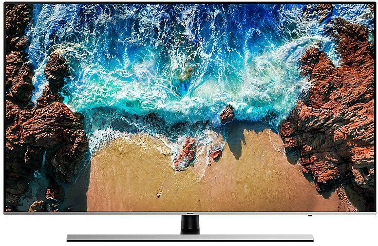 "LED телевизор SAMSUNG UE65NU8000UXRU  ""R"", 65"", Ultra HD 4K (2160p),  серебристый"