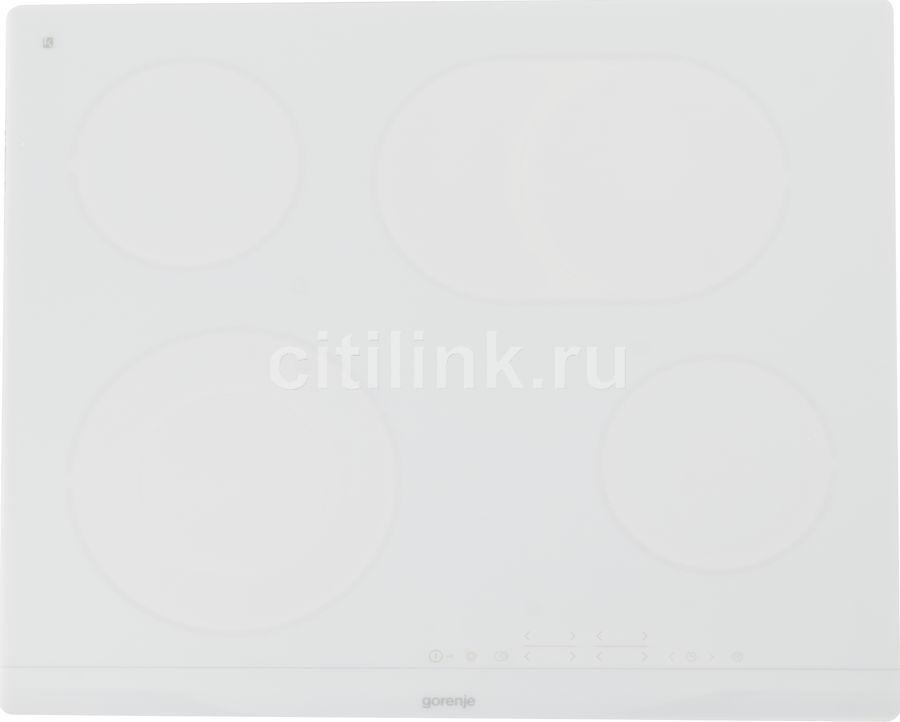 Варочная панель GORENJE ECT643WCSC,  электрическая,  независимая,  белый