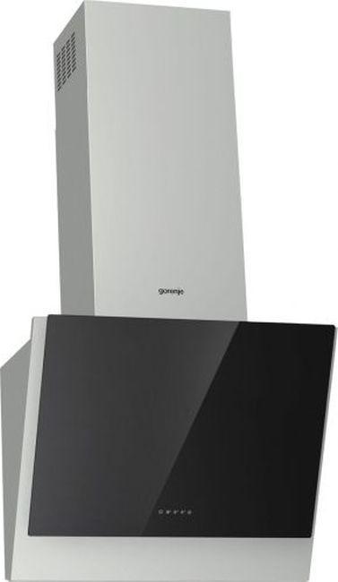 Вытяжка каминная Gorenje WHI643E6XGB нержавеющая сталь/черный управление: сенсорное (1 мотор)