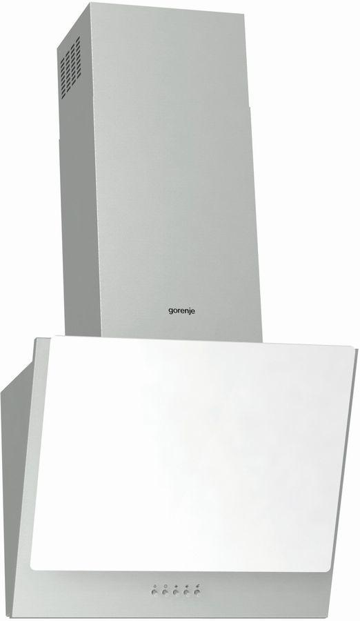 Вытяжка каминная Gorenje WHI623E1XGW нержавеющая сталь/белый управление: кнопочное (1 мотор)