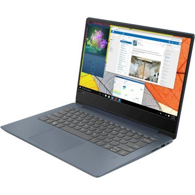 Ноутбук LENOVO IdeaPad 330S-14IKB, 14, Intel Core i5 8250U 1.6ГГц, 6Гб, 256Гб SSD, Intel UHD Graphics 620, Windows 10, 81F4004XRU, темно-синий ноутбук lenovo ideapad yoga 920 13ikb 80y7001urk intel core i5 8250u 1 6 ghz 8192mb 256gb ssd no odd intel hd graphics wi fi bluetooth cam 13 9 1920x1080 touchscreen windows 10 64 bit