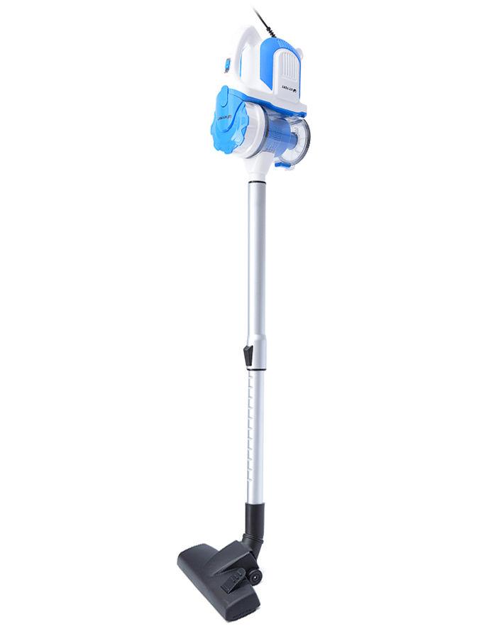 Ручной пылесос KITFORT КТ-524-2, 600Вт, белый/синий