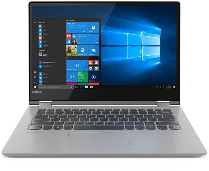 "Ноутбук-трансформер LENOVO Yoga 530-14IKB, 14"",  IPS, Intel  Core i7  8550U 1.8ГГц, 8Гб, 256Гб SSD,  nVidia GeForce  GT 940MX - 2048 Мб, Windows 10, 81EK009ARU,  черный"