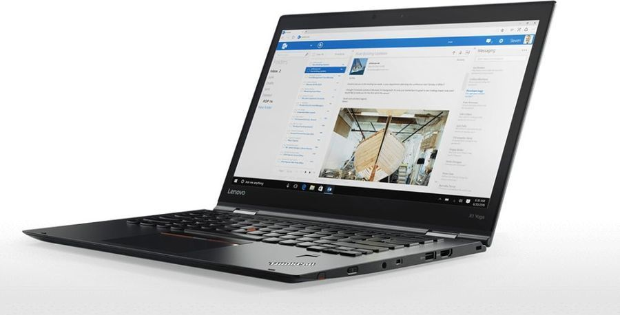 "Ноутбук-трансформер LENOVO ThinkPad X1 Yoga, 14"",  IPS, Intel  Core i5  8250U 1.6ГГц, 8Гб, 256Гб SSD,  Intel UHD Graphics  620, Windows 10 Professional, 20LD002HRT,  черный"