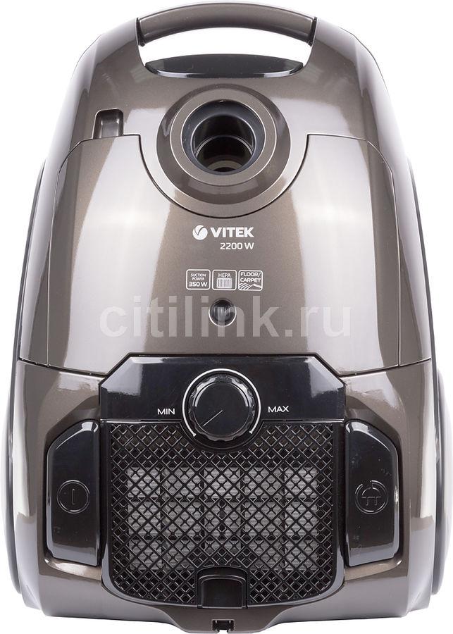 Пылесос VITEK VT-8116 BK, 2200Вт, черный