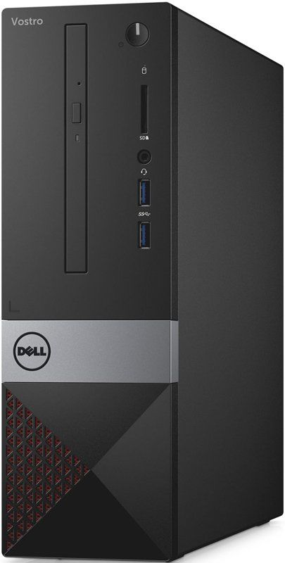 Компьютер  DELL Vostro 3267,  Intel  Core i3  6100,  DDR4 4Гб, 1000Гб,  Intel HD Graphics 530,  DVD-RW,  Linux,  черный [3267-7512]