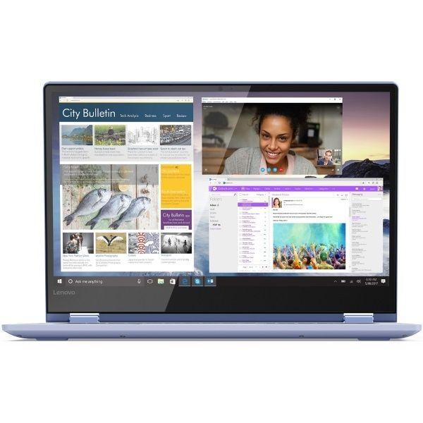 """Ноутбук LENOVO IdeaPad 530S-14IKB, 14"""",  IPS, Intel  Core i7  8550U 1.8ГГц, 8Гб, 256Гб SSD,  nVidia GeForce  Mx150 - 2048 Мб, Windows 10, 81EU00BCRU,  синий"""
