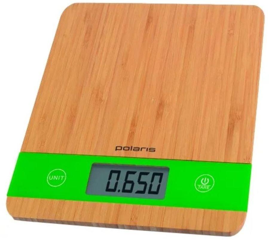 Весы кухонные POLARIS PKS 0545D,  бамбук