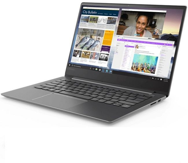 "Ноутбук LENOVO IdeaPad 530S-14IKB, 14"",  IPS, Intel  Core i7  8550U 1.8ГГц, 8Гб, 256Гб SSD,  Intel UHD Graphics  620, Windows 10, 81EU00BFRU,  черный"