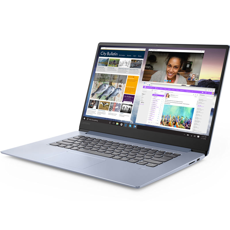 "Ноутбук LENOVO IdeaPad 530S-15IKB, 15.6"",  IPS, Intel  Core i7  8550U 1.8ГГц, 8Гб, 256Гб SSD,  nVidia GeForce  Mx150 - 2048 Мб, Windows 10, 81EV003YRU,  синий"
