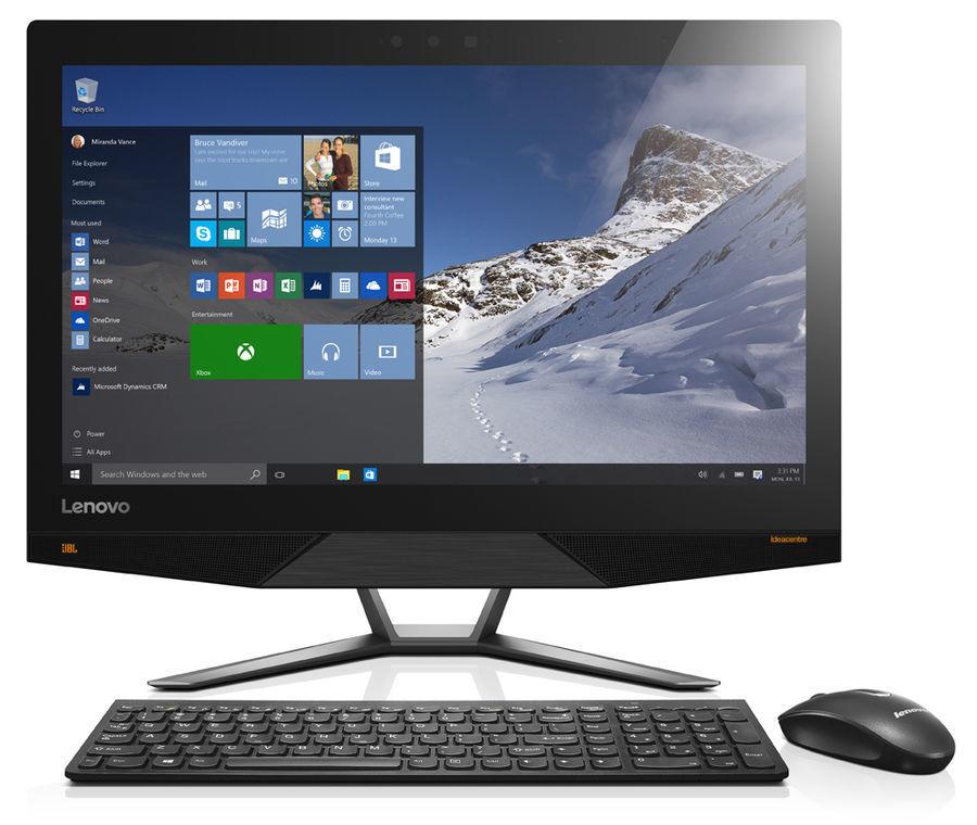 "Моноблок LENOVO IdeaCentre 720-24IKB, 23.8"", Intel Core i5 7400, 8Гб, 1000Гб, NVIDIA GeForce GTX960A - 2048 Мб, Windows 10, черный [f0cm003srk]"