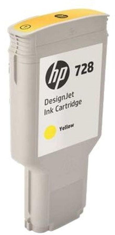Картридж HP 728, желтый [f9k15a]
