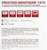 "Ноутбук PRESTIGIO SmartBook 141С, 14.1"",  IPS, Intel  Atom X5  Z8350 1.44ГГц, 2Гб, 32Гб eMMC,  Intel HD Graphics  400, Windows 10 Home, PSB141C01BFH_BK,  черный вид 18"