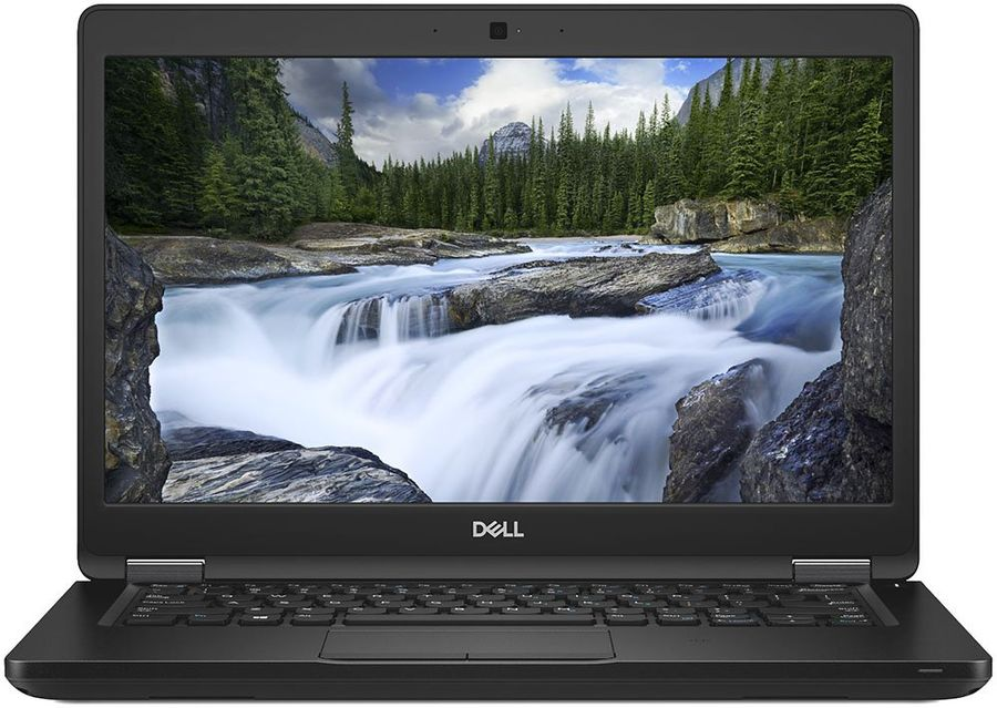 "Ноутбук DELL Latitude 5490, 14"",  IPS, Intel  Core i5  8250U 1.6ГГц, 4Гб, 500Гб,  Intel UHD Graphics  620, Linux, 5490-1504,  черный"