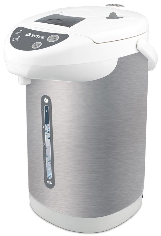Термопот VITEK VT-1196,  белый и серебристый [1196-vt-01]