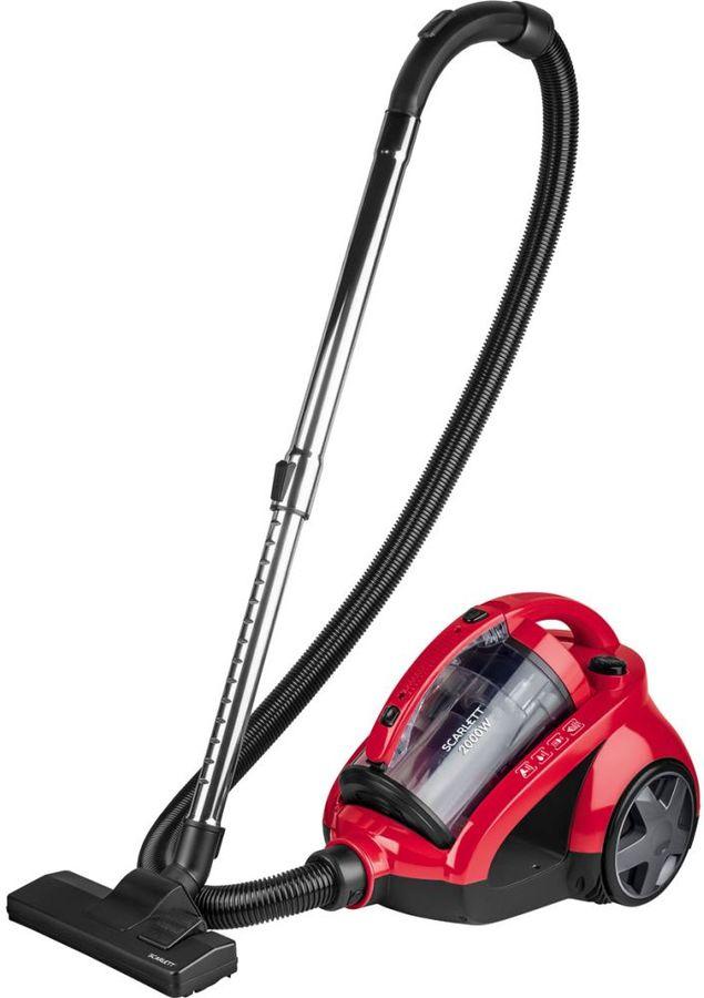 Пылесос SCARLETT SC-VC80C85, 2000Вт, красный