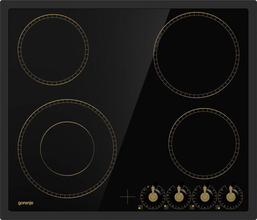 Варочная панель GORENJE EC642CLB,  электрическая,  независимая,  черный