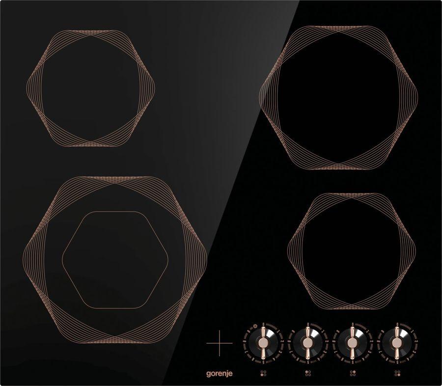 Варочная панель GORENJE EC642INB,  электрическая,  независимая,  черный