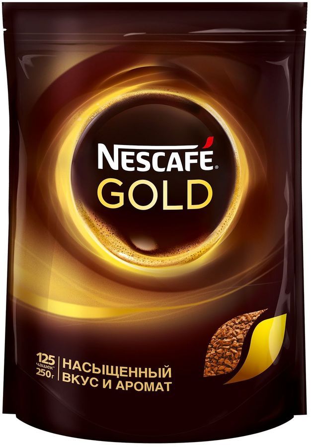 Кофе растворимый NESCAFE Gold Doy,  250грамм [12326222]