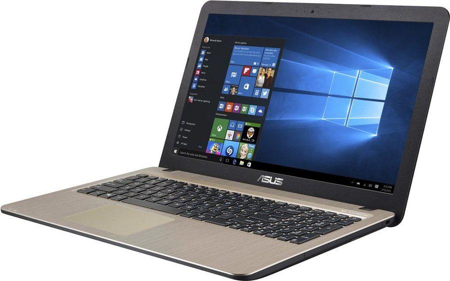 """Ноутбук ASUS VivoBook X540LA-DM1082T, 15.6"""",  Intel  Core i3  5005U 2.0ГГц, 4Гб, 500Гб,  Intel HD Graphics  5500, Windows 10, 90NB0B01-M24520,  черный"""