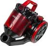 Пылесос GINZZU VS424, черный/красный