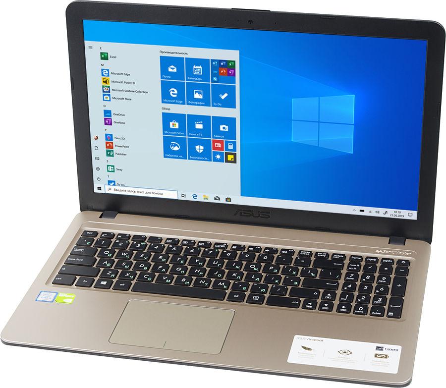 """Ноутбук ASUS VivoBook X540UB-DM048T, 15.6"""",  Intel  Core i3  6006U 2.0ГГц, 4Гб, 500Гб,  nVidia GeForce  Mx110 - 2048 Мб, Windows 10, 90NB0IM1-M03630,  черный"""