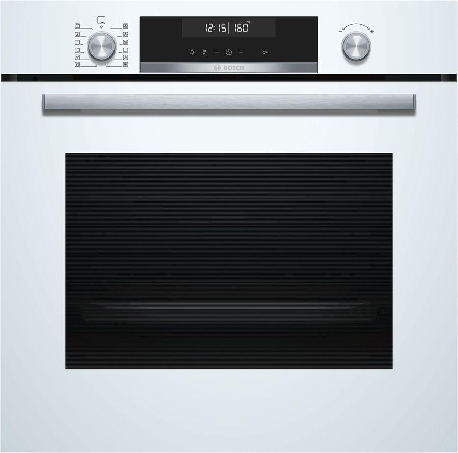 Духовой шкаф BOSCH HBG578FW0R,  белый