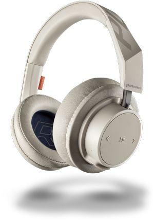 Наушники с микрофоном PLANTRONICS BackBeat GO 600, 3.5 мм/Bluetooth, мониторы, бежевый [211141-99]