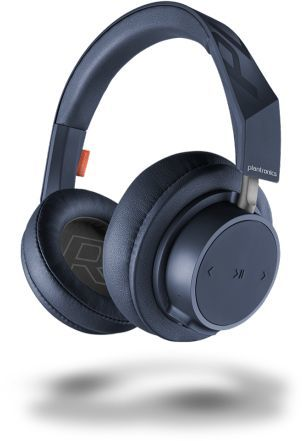 Наушники с микрофоном PLANTRONICS BackBeat GO 600, 3.5 мм/Bluetooth, мониторы, синий [211139-99]