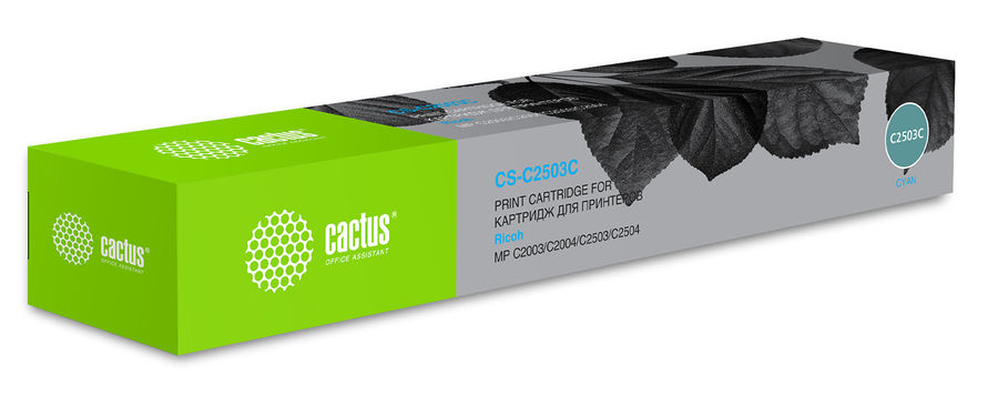 Картридж CACTUS CS-C2503C голубой