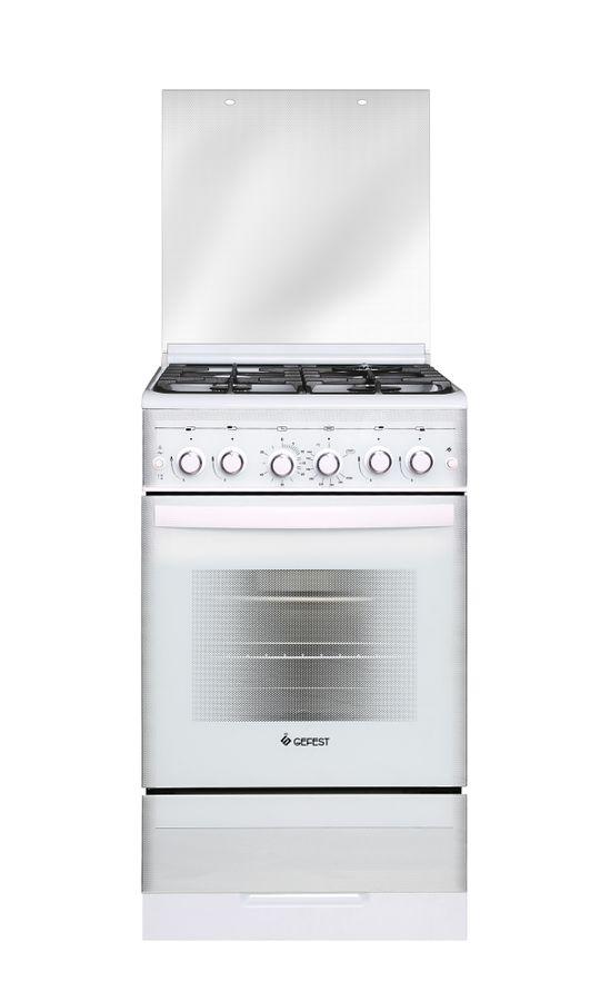Газовая плита GEFEST ПГ 5300-02 0040,  газовая духовка,  белый
