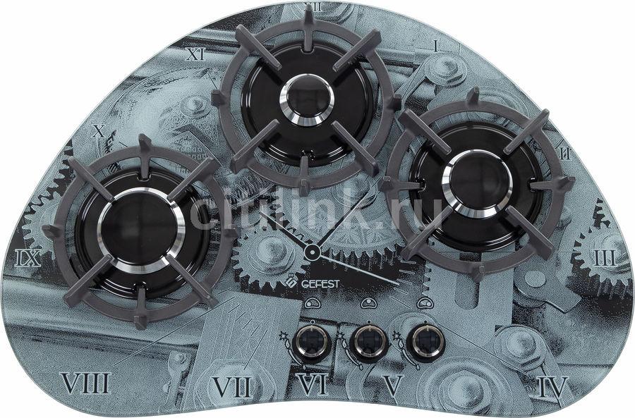 Варочная панель GEFEST СГ СН 2120 К1,  независимая,  серый