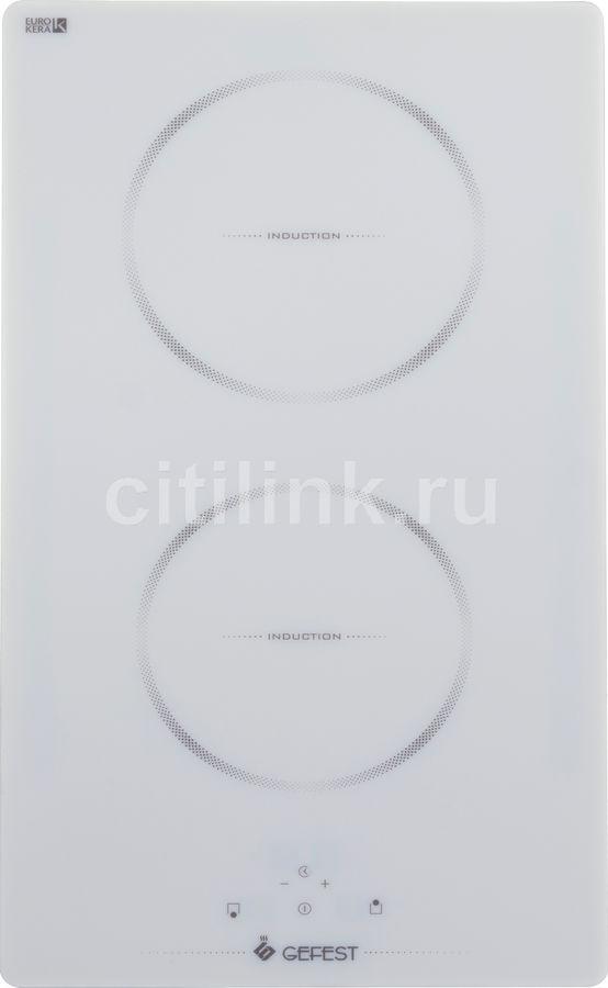 Варочная панель GEFEST ПВИ 4000 К12,  индукционная,  независимая,  белый