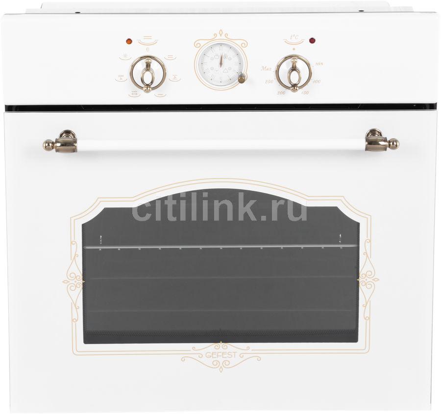 Духовой шкаф GEFEST ЭДВ ДА 602-02 К82,  белый