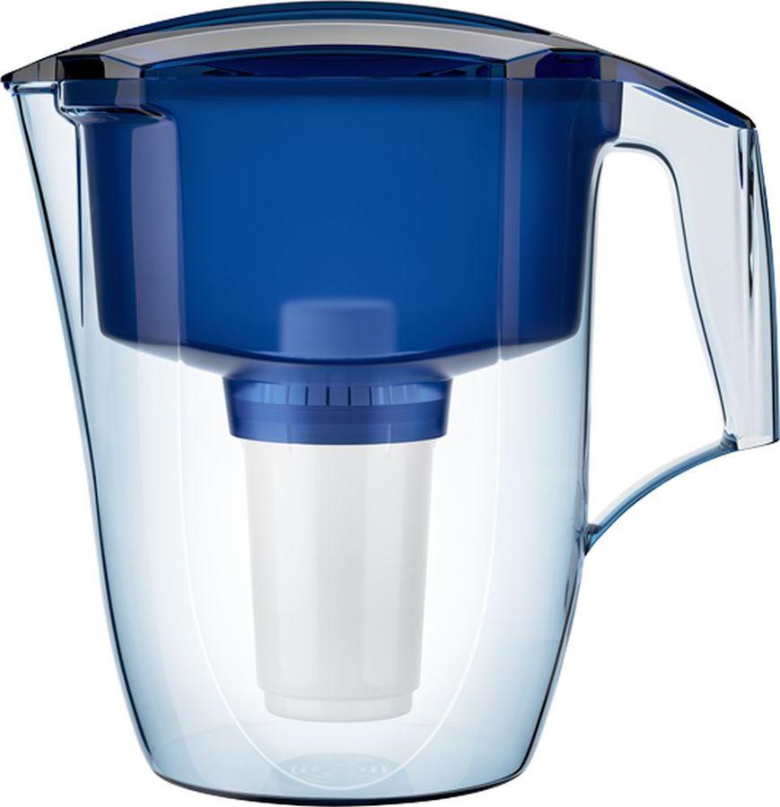 Фильтр для воды АКВАФОР Гарри + доп.модуль,  синий,  3.9л
