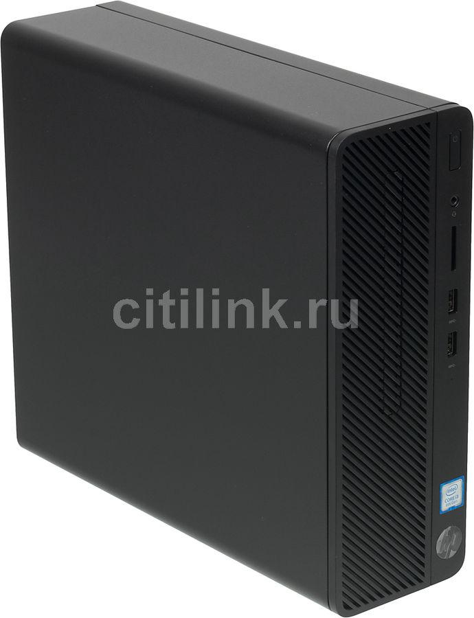 Компьютер  HP 290 G1,  Intel  Core i3  8100,  DDR4 4Гб, 500Гб,  Intel UHD Graphics 630,  DVD-RW,  Windows 10 Professional,  черный [3zd68ea]