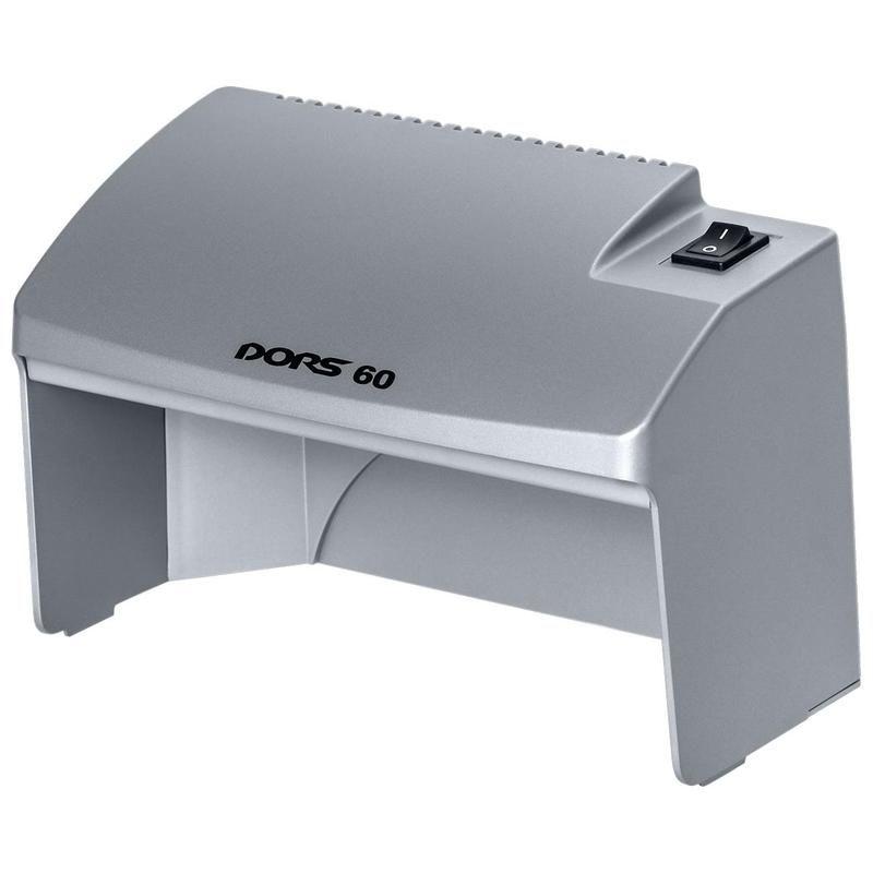 Детектор банкнот Dors 60 SYS-033278 просмотровый мультивалюта