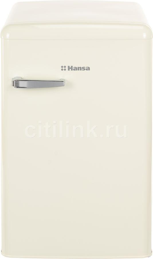 Холодильник HANSA FM1337.3HAA,  однокамерный, бежевый
