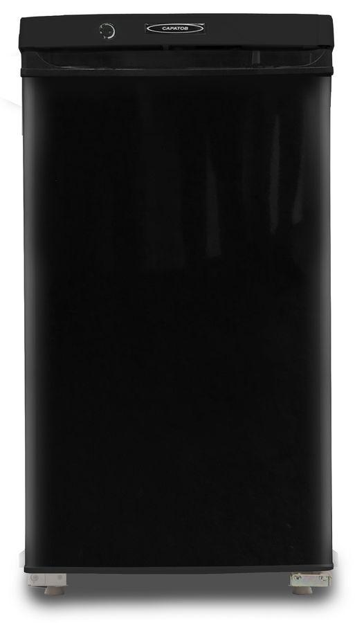 Холодильник САРАТОВ 452 КШ-120,  однокамерный, черный
