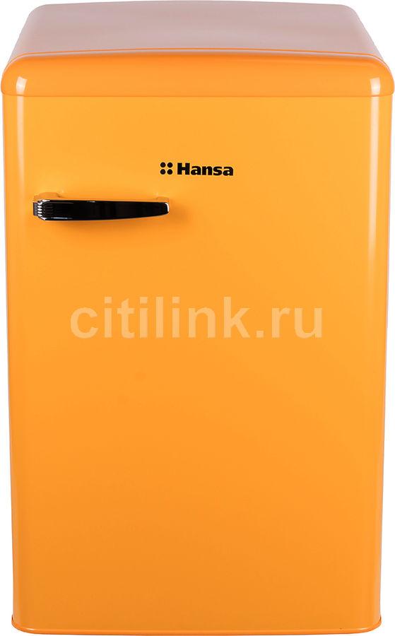 Холодильник HANSA FM1337.3YAA,  однокамерный, желтый