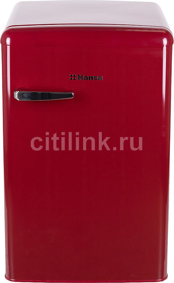 Холодильник HANSA FM1337.3WAA,  однокамерный, бордовый