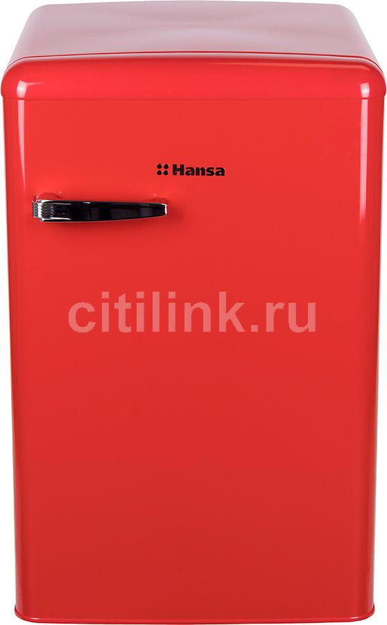 Холодильник HANSA FM1337.3RAA,  однокамерный, красный