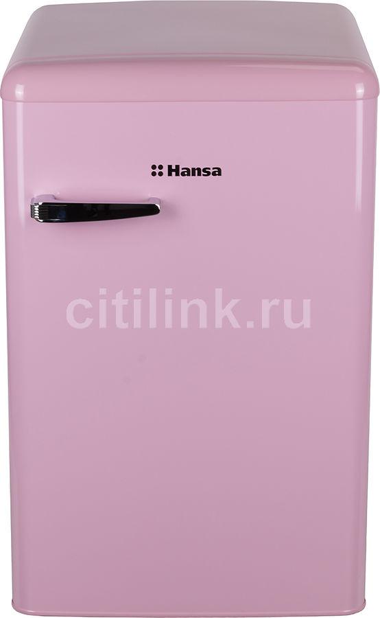 Холодильник HANSA FM1337.3PAA,  однокамерный, розовый
