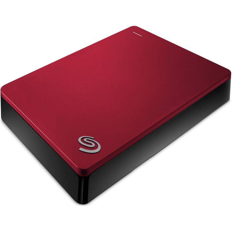 Внешний жесткий диск SEAGATE Backup Plus STDR4000902, 4Тб, красный