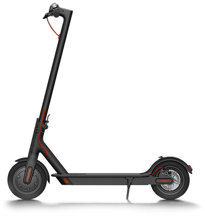 Электросамокат XIAOMI Mijia Electric Scooter M365,  7800mAh,  черный [fbc4004gl]