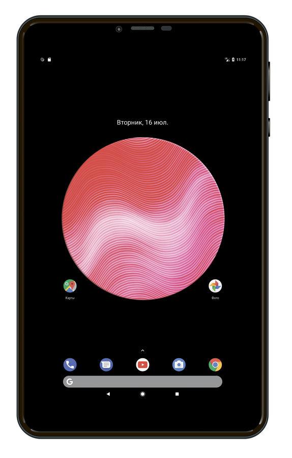 Планшет DIGMA Plane 8580 4G,  2GB, 16GB, 3G,  4G,  Android 7.0 черный [ps8199ml]