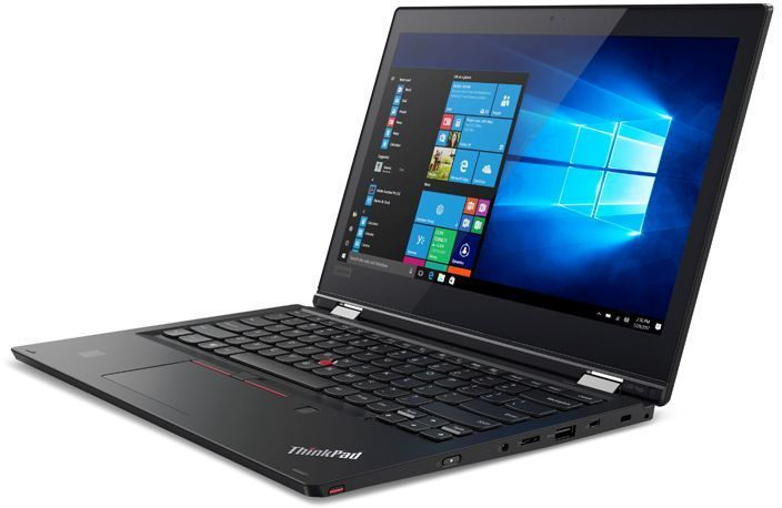 Ноутбук-трансформер LENOVO ThinkPad Yoga L380, 13, Intel Core i3 8130U 2.2ГГц, 4Гб, 256Гб SSD,  UHD Graphics 620, Windows 10 Home, 20M7002GRT, черный