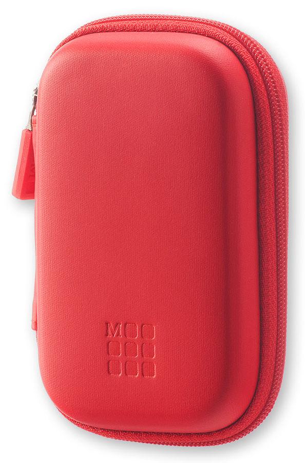 Чехол для путешествий Moleskine Journey Pouch XS 70х110x30мм (в компл.:ремешок на запястье) красный